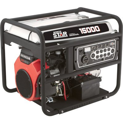 Northstar Portable Generator - 15,000 Surge Watts, 13,500 Rated Watts, Electric Start, Epa And Carb-Compliant