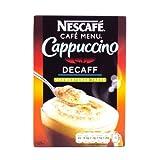Nescafe Unswtd Decaffeinated Cappuccino 10 Pack 167g
