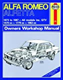 Haynes Garage Quality Car Repair Manual/Book For Alfa Romeo Alfetta (73 - 87) up to E * Including a De-Mister Pad and 1 Car Air Freshner.