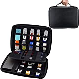 USB Flash Drive Case Bag / Hard Drive Case Bag - Wolven Portable Tote EVA Waterproof Shockproof Large Hard Drive Case / USB Flash Drive Case / GPS Case / Digital Camera (DC) Case / Card Case ETC