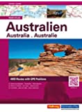 Australien: Strassenatlas (Hallwag Atlanten)