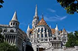 View On Fishermans Bastion In Budapest Hungary Europe Art Poster 28