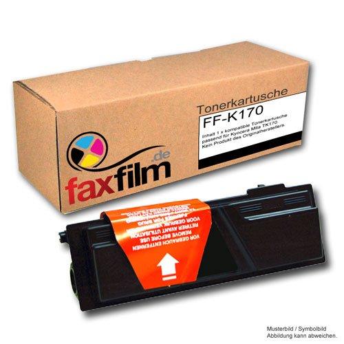 Toner kompatibel für Kyocera / Mita FS 1320 D / 1320 DN / 1370 DN ersetzt TK 170 / 1T02LZ0NL0, schwarz, 7200 Seiten