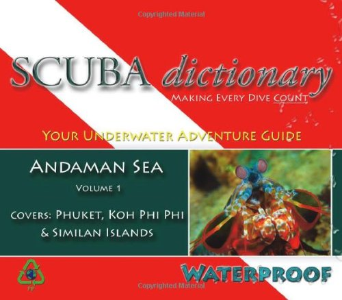 SCUBA dictionary: Andaman Sea, Vol. 1
