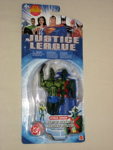"Justice League ""Martian Manhunter"" Attack Armor"