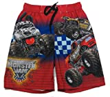 Monster Jam Maximum Destruction Swim Shorts Size 8