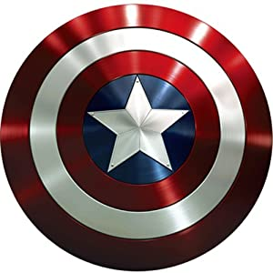 Captain America Party Iron-On Transfer Emblems