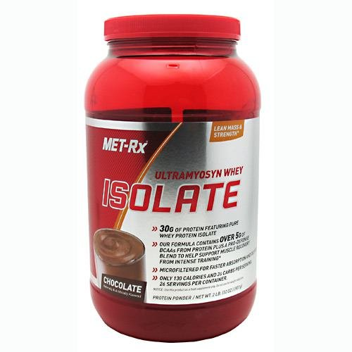 MET-Rx Ultramyosyn Whey Isolate Chocolate - 2 LBS
