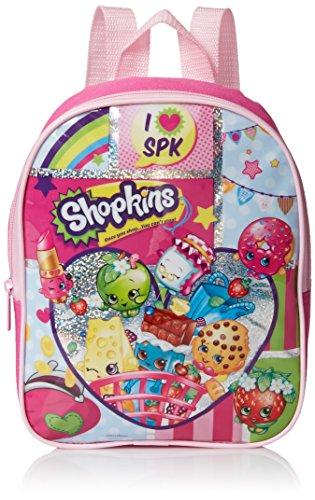 Shopkins Girls' 10 Inch Mini Backpack, Pink JungleDealsBlog.com