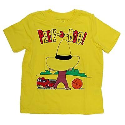 Curious George Peek-A-Boo Lift The Flap Toddler T-Shirt