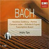 echange, troc  - Bach: Oeuvres pour piano : Variations Goldberg / Partitas / Preludes & Fugues (Coffret 5 CD)