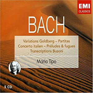Bach: Oeuvres pour piano : Variations Goldberg / Partitas / Preludes & Fugues (Coffret 5 CD)