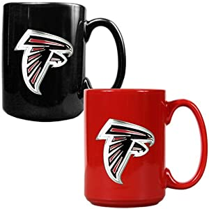 NFL Atlanta Falcons Two Piece Ceramic Mug Set - Primary Logo by Great American Products
