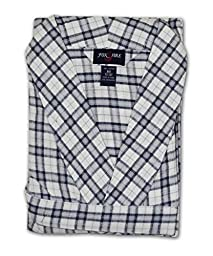 Foxfire Big and Tall Flannel Robe - Assorted (Assorted 1/2X)
