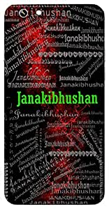 Janakibhushan (Ornament Of Janki ( Lord Rama)) Name & Sign Printed All over customize & Personalized!! Protective back cover for your Smart Phone : Apple iPhone 7