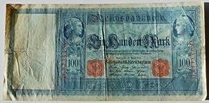 German Reichsbanknote 100 Mark Bill Paper Money