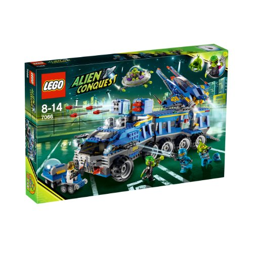 LEGO Alien Conquest 7066:  Earth Defence HQ