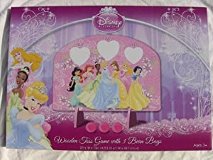 Disney Princess Wooden Toss Game With 3 Bean Bags at Sears.com