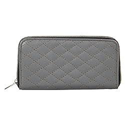 Anekaant Duvet Grey PU Wallet