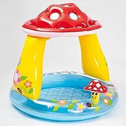 Intex Brand Kids Colorful Mushroom Shape Swimming Pool (Age 1 to 3 yrs)