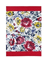 Bohemian Floral & Spotted Tea Towel