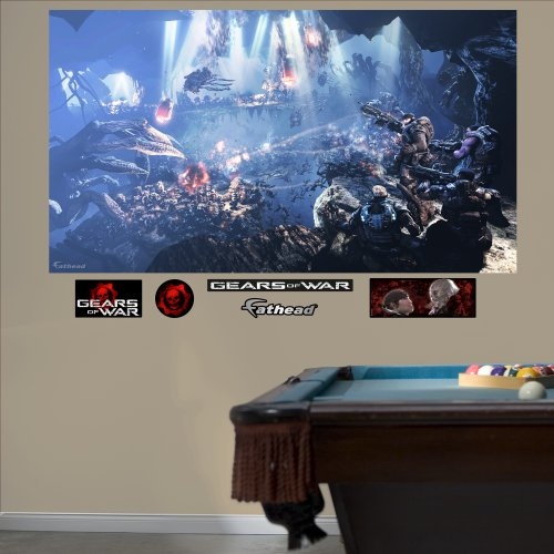 Fathead Gears Of War 3: Underground Mural Graphic Wall Décor