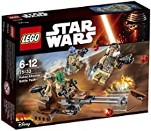 Comprar Lego 75133 LEGO Star Wars - Pack de combate rebelde, multicolor (75133)
