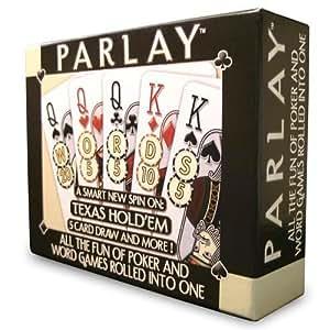 Parlay Word/Poker Hybrid Card Game (RDG1111)