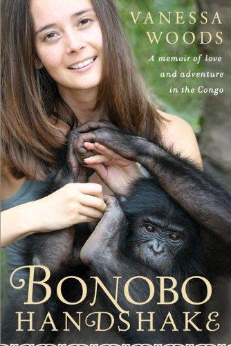 Bonobo Handshake by Amanda Woods