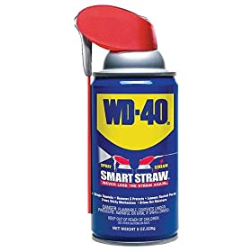 WD-40 110054 Multi-Use Product Spray with Smart Straw, 8 oz. (Pack of 1)