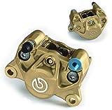 BREMBO(ブレンボ) BREMBO 2POT 84mmピッチ 32φキャスティングキャリパー(新カニ) bマーク/ゴールド [20.B851.11]