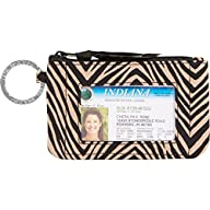 Vera Bradley Zip ID Case, zebra