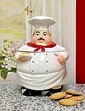 Chef Cookie Jar, 88976, by ACK