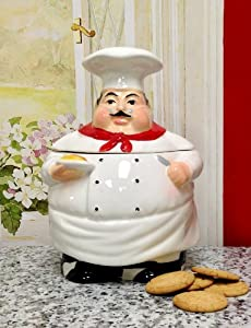 Chef Cookie Jar, 88976, by ACK by KMC/KK-Chef