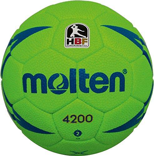 molten Handball, Grün/Blau, 2, H2X4200-X