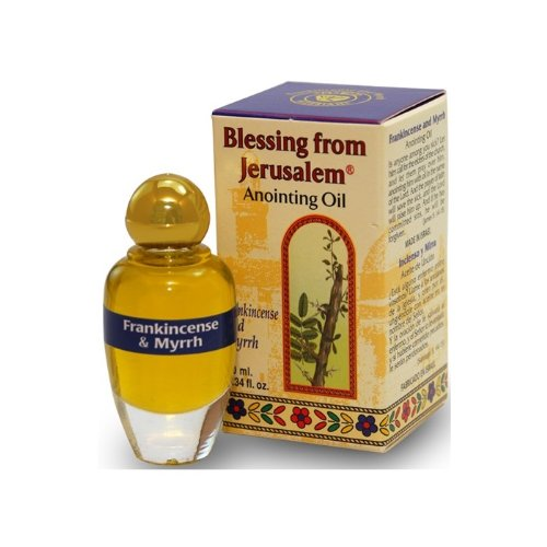 Frankincense and Myrrh Anointing Oil with Biblical Spices (10ml) (Holy Oil compare prices)