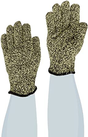 "Superior SKX-W CoolGrip Kevlar/Carbon Fiber Reinforced Heat and Flame Resistant Glove with 2-1/2"" Cuff, Work, Small (Pack of 1 Pair)"