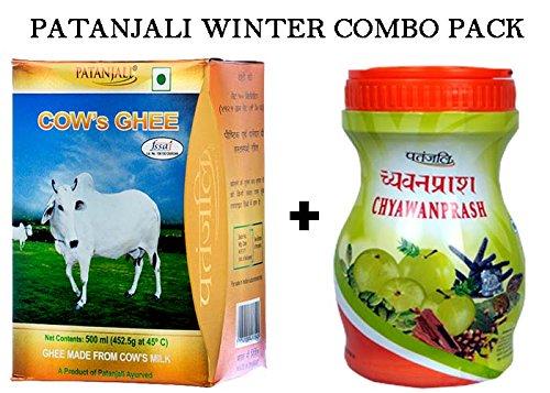 PATANJALI COW'S GHEE 500GM & CHYAWANPRASH 500GM COMBO PACK By Amazon @ Rs.380