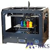3D Drucker Schwarz 3D Printer Dual Extruder 3D-Drucker 3D Sy...
