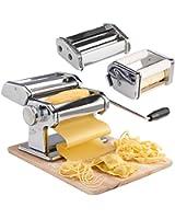 VonShef :Machine à pâtes manuelle pour pâtes fraîches faites maison