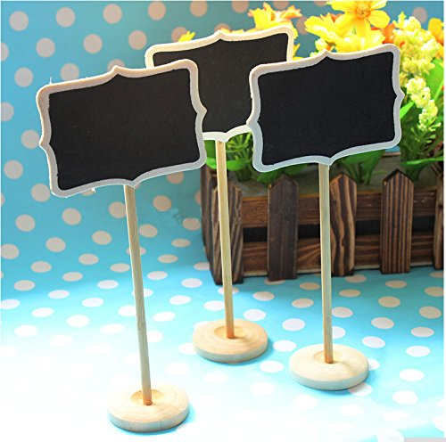 Worldoor-New-12-MINI-chalkboard-blackboards-on-stick-stand-place-holder-wedding-Party-Decorations-Board-size-856cm