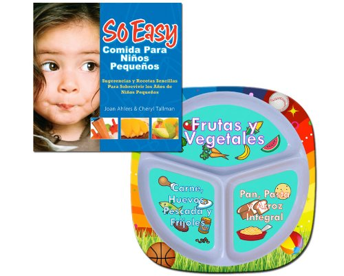 Fresh Baby Plate and So Easy Toddler Food Cookbook - Value Pack, Spanish