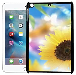 FCS Printed 2D Designer Hard Back Case For Apple iPad Mini With Universal Mobile Stand