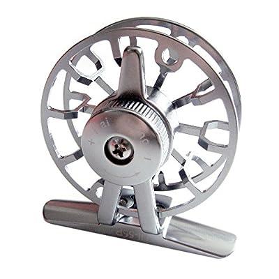 EverTrust(TM) UK New Full Metal Aluminum Fly Fish Reel Former Ice Fishing Vessel Wheel Pesca HI55R 0.30/150(mm/m) by EverTrust UK