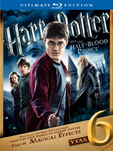 Cover art for  Harry Potter and the Half-Blood Prince (Two-Disc Ultimate Edition) [Blu-ray]