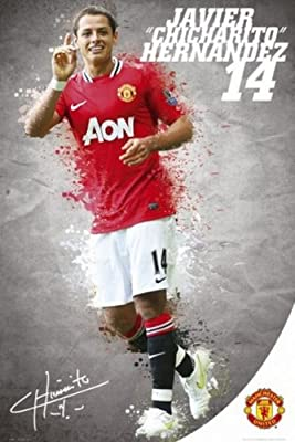 Posters: Soccer Poster - Manchester United, 14 Javier