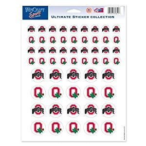 Buy NCAA Ohio State Buckeyes 8'' x 11'' Ultimate Sticker Sheet by WinCraft