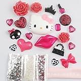 MINI KITTY-3D DIY beautiful Decoration Kits (kitty red lips)