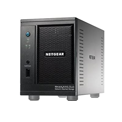 Netgear ReadyNAS Duo RND2000 Home Storage Solution ( 2 Bay ) - No Drives Included from Netgear