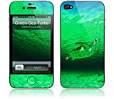 iPhone 4/4S スキンシール【GELASKINS】【A Wild Green Sea Turtle】【お取り寄せ納期3週間前後】